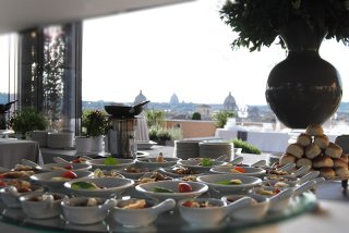 Terrazza Caffarelli Roma La Luxury Location Per Eventi